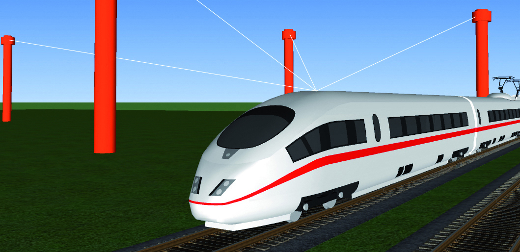 engineering drawing train