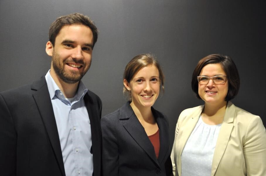 The organization-team Robert Sengpiel, Laura keller and Susanne Offermann