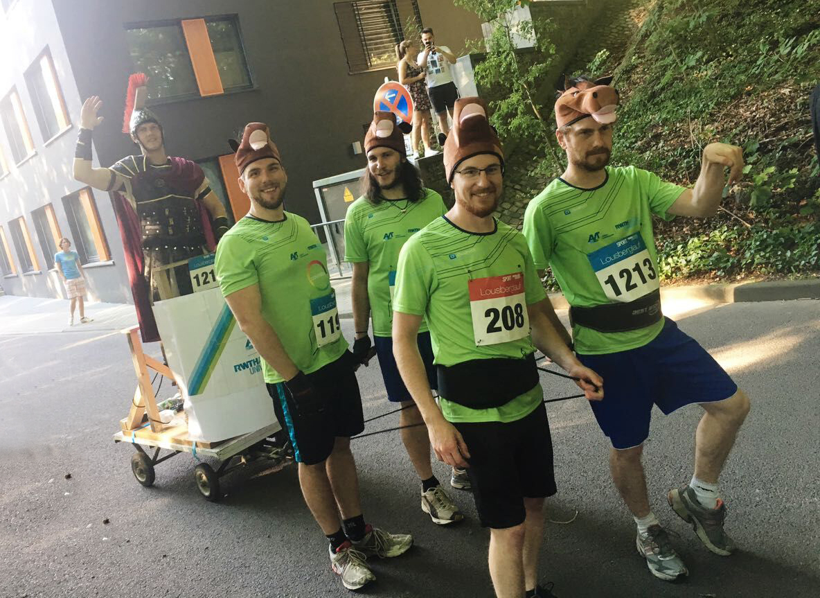 AVT runners get creative with fun and costumes