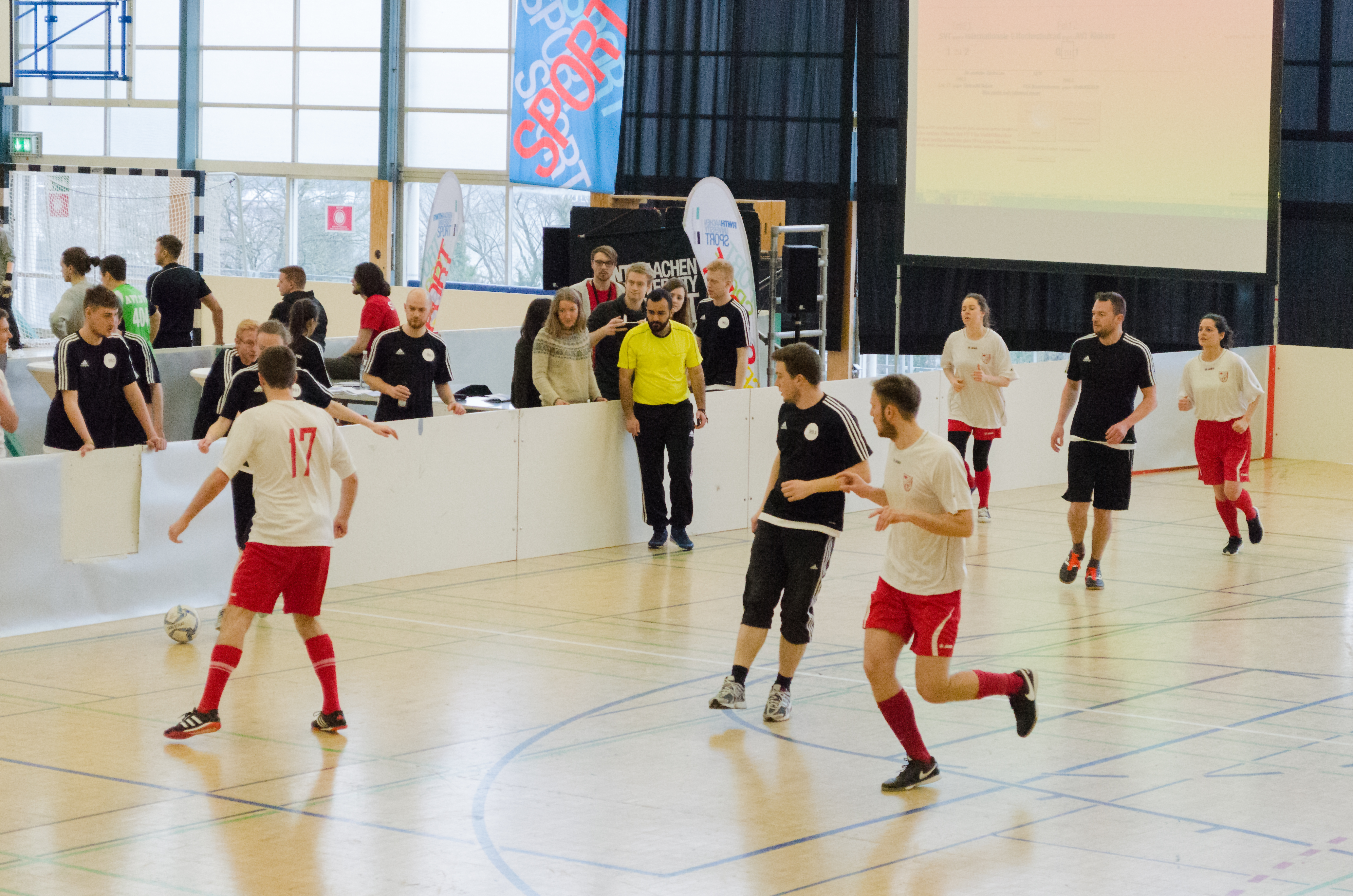 AVT Team at the indoor soccer cup