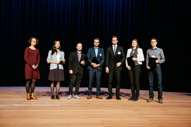 The winners of the poster prizes