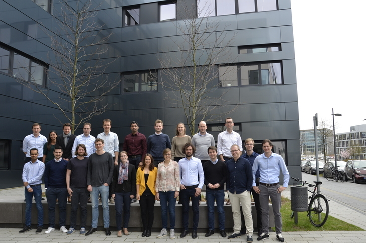 Ph.D. researchers of the SynErgie project visit AVT